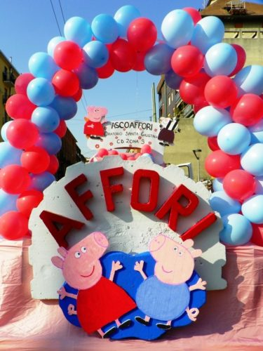 Peppa Pig Carnevale afforese 8 Marzo 2014 foto Ermes Cordaro